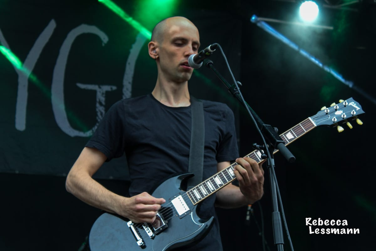 Lygo beim Rockaway Beach Open Air 2018
