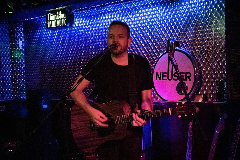 Henning Neuser im Subway in Köln
